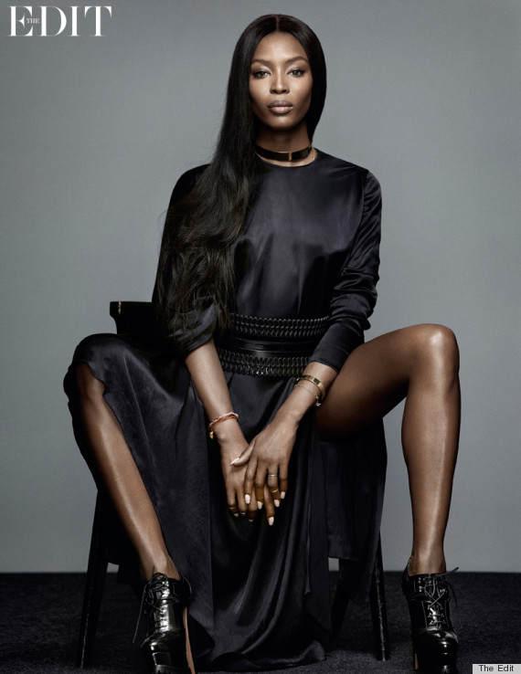 Черная пантера модельного бизнеса - Наоми Кэмпбелл (Naomi Campbell) 18