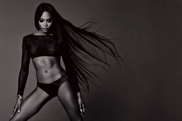 Черная пантера модельного бизнеса - Наоми Кэмпбелл (Naomi Campbell) 20