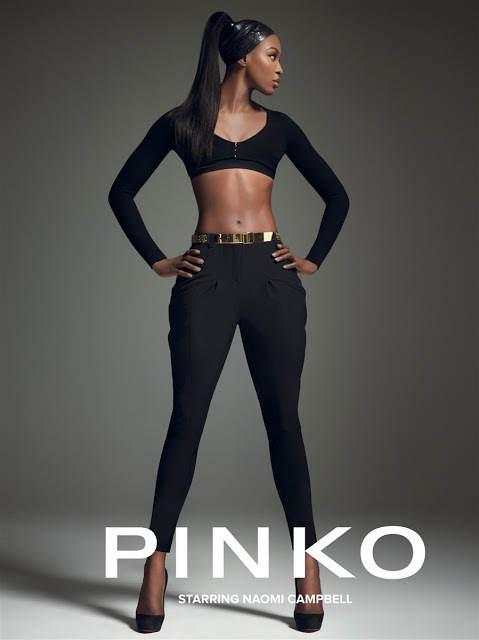 Черная пантера модельного бизнеса - Наоми Кэмпбелл (Naomi Campbell) 22
