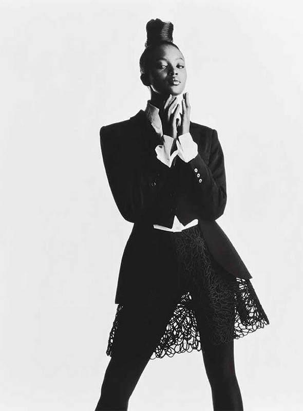 Черная пантера модельного бизнеса - Наоми Кэмпбелл (Naomi Campbell) 3