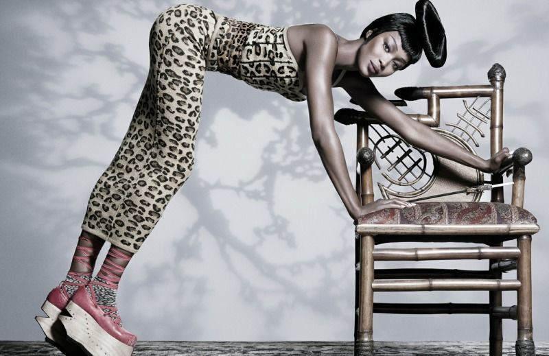 Черная пантера модельного бизнеса - Наоми Кэмпбелл (Naomi Campbell) 5