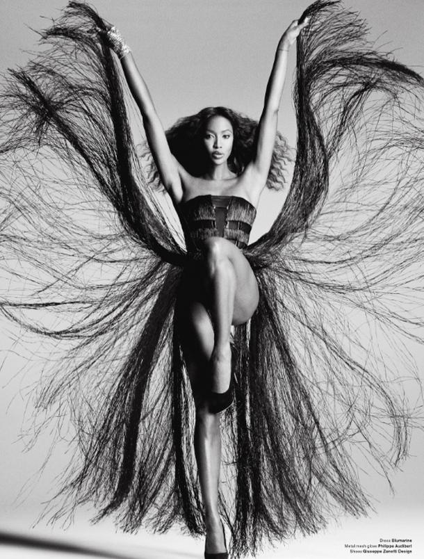 Черная пантера модельного бизнеса - Наоми Кэмпбелл (Naomi Campbell) 6