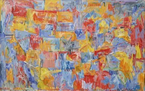 Джаспер Джонс (Jasper Johns) и современный поп-арт 17