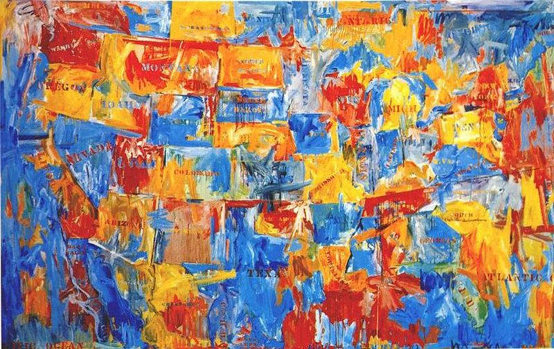 Джаспер Джонс (Jasper Johns) и современный поп-арт 3