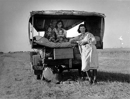 Фотожурналисты Топ-10 Доротея Ланж (Dorothea Lange)