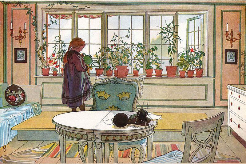 Карл Ларссон (Carl Larsson) и шведская живопись 19 века 10