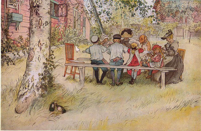 Карл Ларссон (Carl Larsson) и шведская живопись 19 века 11