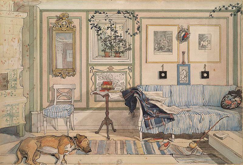 Карл Ларссон (Carl Larsson) и шведская живопись 19 века 12
