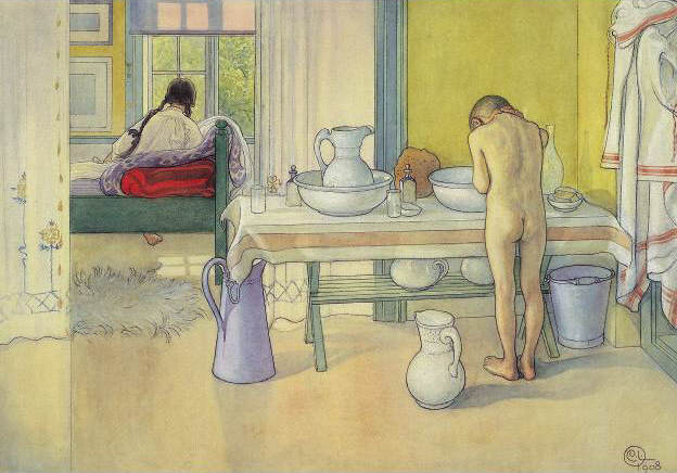 Карл Ларссон (Carl Larsson) и шведская живопись 19 века 13