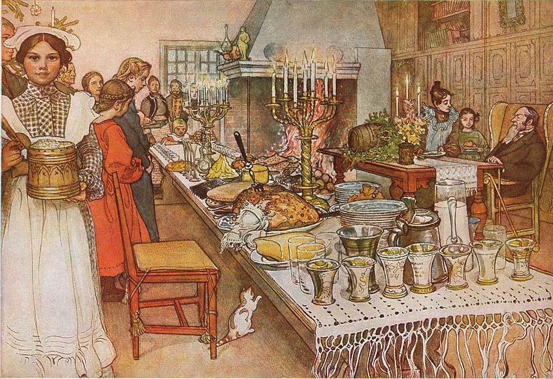 Карл Ларссон (Carl Larsson) и шведская живопись 19 века 14
