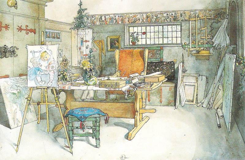 Карл Ларссон (Carl Larsson) и шведская живопись 19 века 15