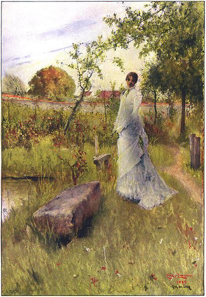 Карл Ларссон (Carl Larsson) и шведская живопись 19 века 16