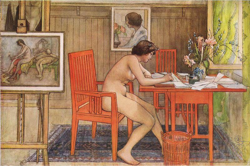 Карл Ларссон (Carl Larsson) и шведская живопись 19 века 17
