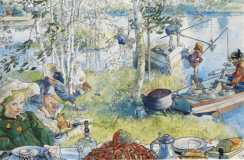 Карл Ларссон (Carl Larsson) и шведская живопись 19 века