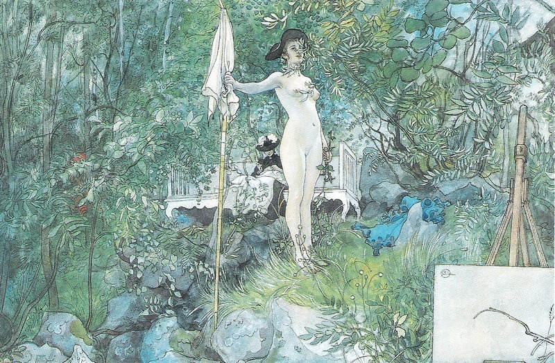 Карл Ларссон (Carl Larsson) и шведская живопись 19 века 19
