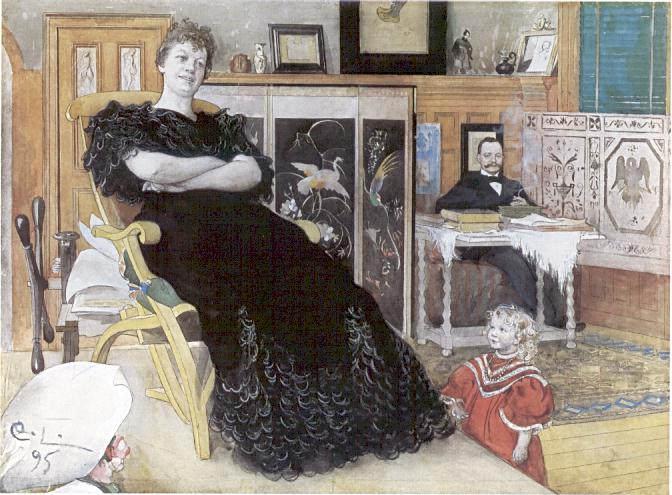 Карл Ларссон (Carl Larsson) и шведская живопись 19 века 20