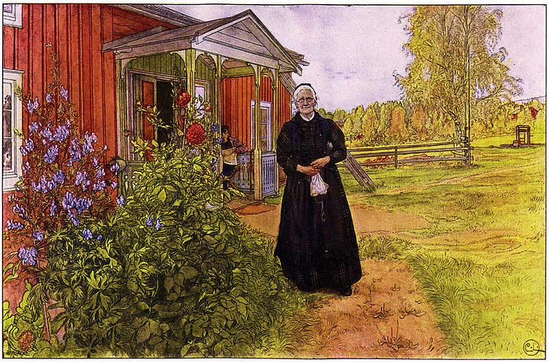 Карл Ларссон (Carl Larsson) и шведская живопись 19 века 21