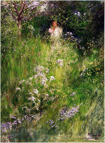Карл Ларссон (Carl Larsson) и шведская живопись 19 века 22