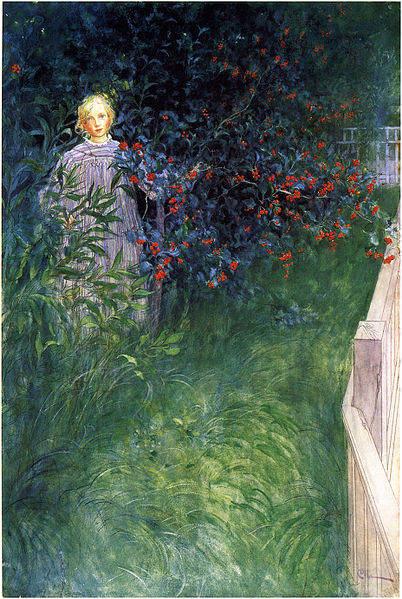 Карл Ларссон (Carl Larsson) и шведская живопись 19 века 23