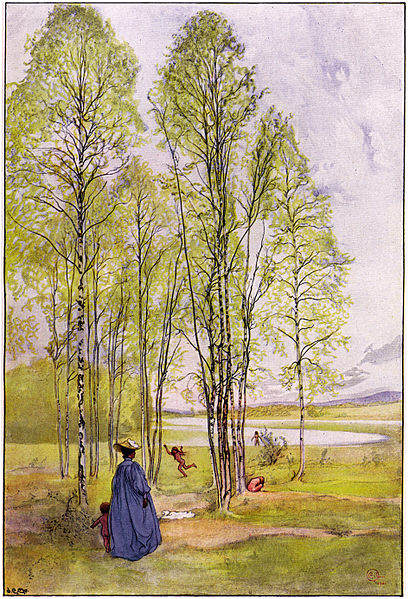 Карл Ларссон (Carl Larsson) и шведская живопись 19 века 24