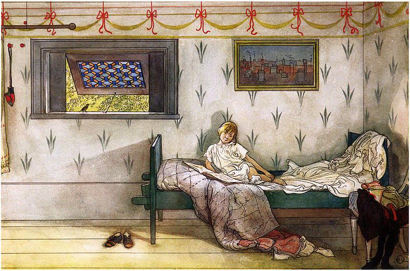 Карл Ларссон (Carl Larsson) и шведская живопись 19 века 25
