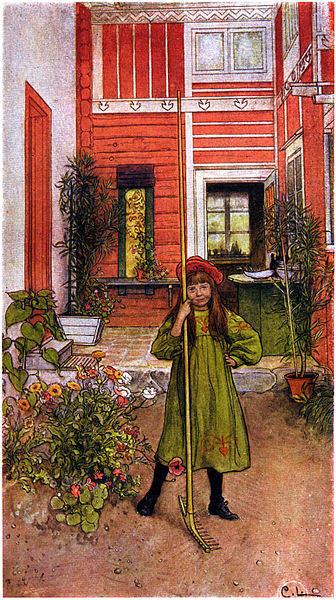 Карл Ларссон (Carl Larsson) и шведская живопись 19 века 26