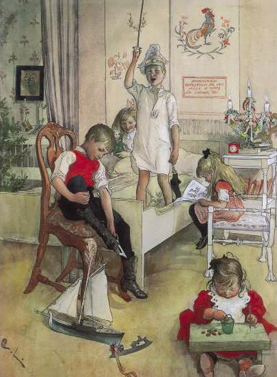 Карл Ларссон (Carl Larsson) и шведская живопись 19 века 3