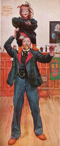 Карл Ларссон (Carl Larsson) и шведская живопись 19 века 4