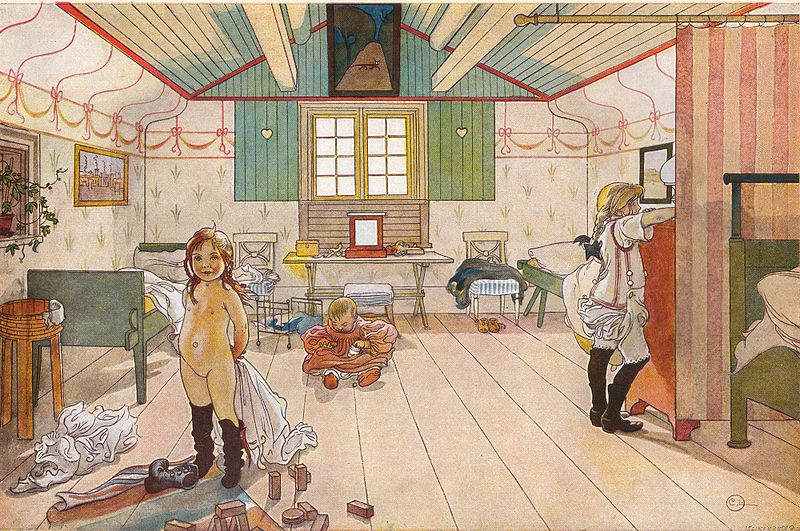 Карл Ларссон (Carl Larsson) и шведская живопись 19 века 5