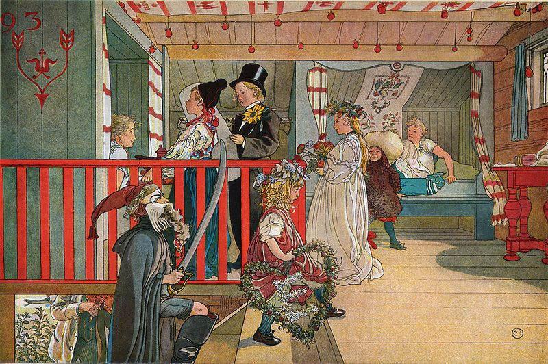 Карл Ларссон (Carl Larsson) и шведская живопись 19 века 6