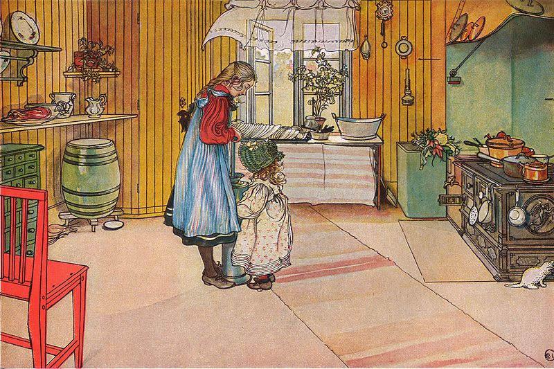 Карл Ларссон (Carl Larsson) и шведская живопись 19 века 7