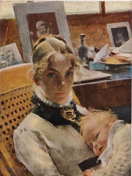 Карл Ларссон (Carl Larsson) и шведская живопись 19 века 8