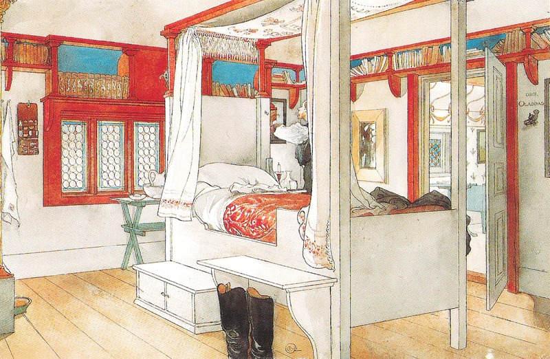Карл Ларссон (Carl Larsson) и шведская живопись 19 века 9