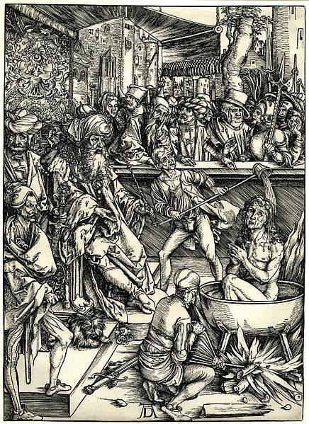 Мастер ксилографии Альбрехт Дюрер (Albrecht Dürer) 21