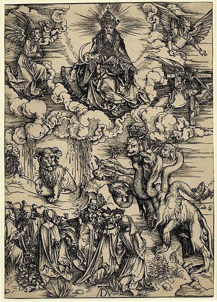 Мастер ксилографии Альбрехт Дюрер (Albrecht Dürer) 33