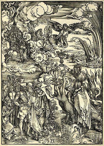 Мастер ксилографии Альбрехт Дюрер (Albrecht Dürer) 34