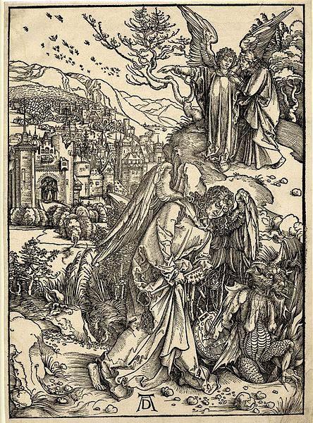 Мастер ксилографии Альбрехт Дюрер (Albrecht Dürer) 35