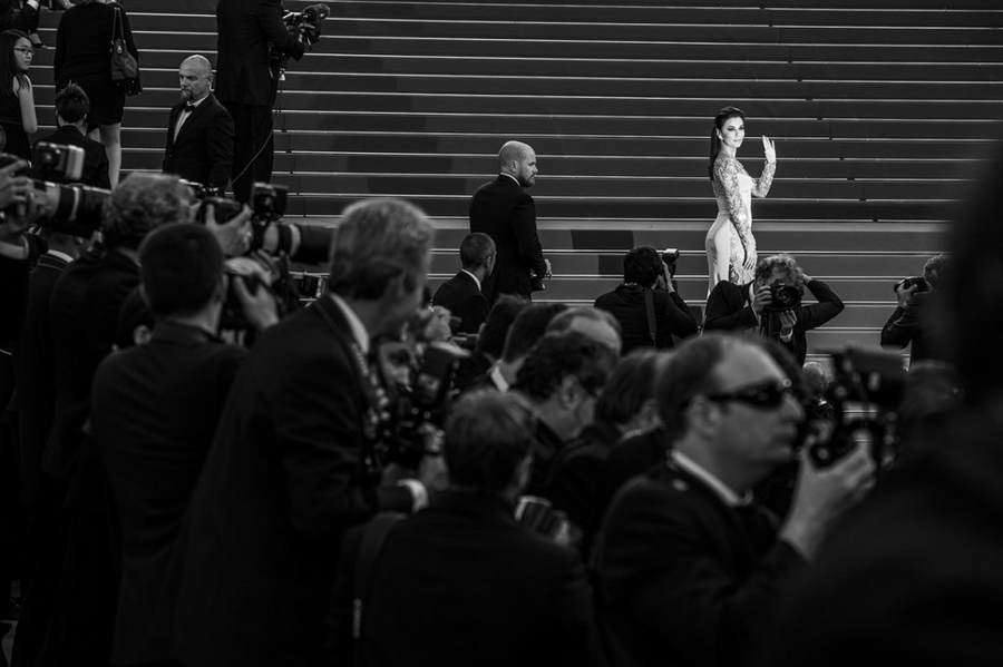 Монохромный Каннский кинофестиваль от Винсента Десайли (Vincent Desailly) 4
