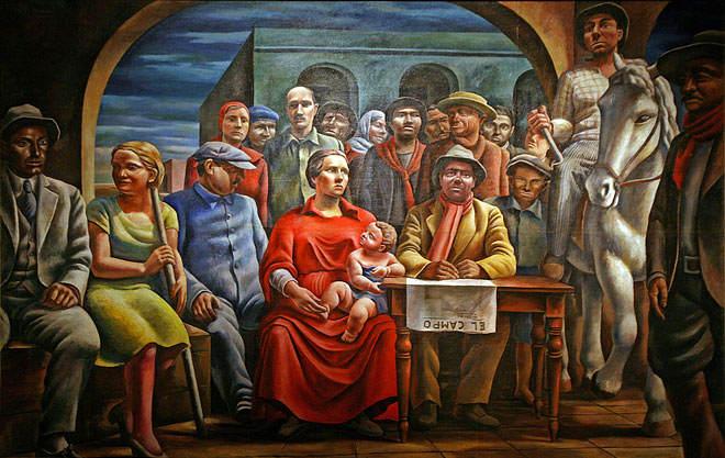 Новый реализм Антонио Берни (Antonio Berni) 4