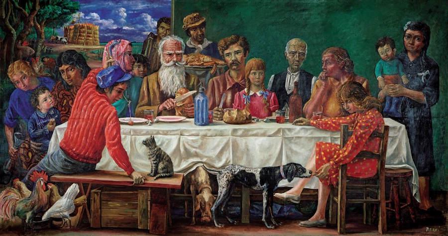 Новый реализм Антонио Берни (Antonio Berni) 7