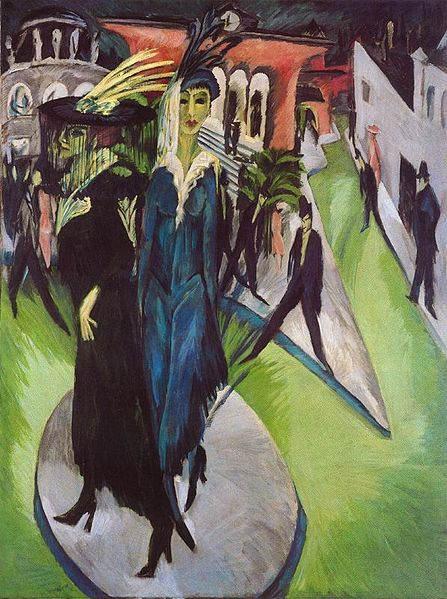 Пионер немецкого экспрессионизма - Эрнст Кирхнер (Ernst Kirchner) 17