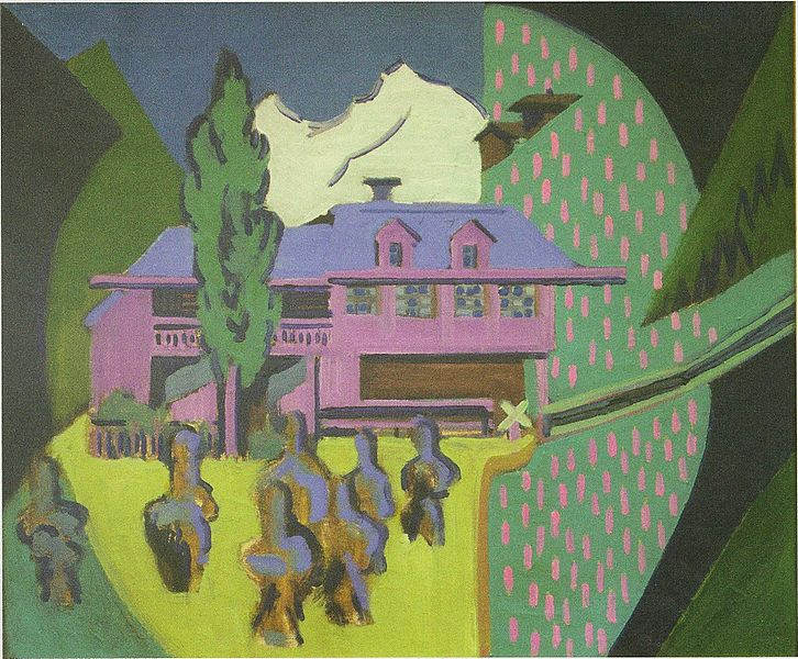 Пионер немецкого экспрессионизма - Эрнст Кирхнер (Ernst Kirchner) 27