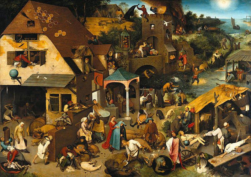 Пионер жанровой живописи - Питер Брейгель Старший (Pieter Bruegel) 10