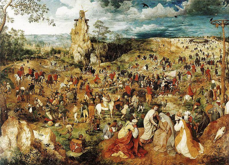 Пионер жанровой живописи - Питер Брейгель Старший (Pieter Bruegel) 12