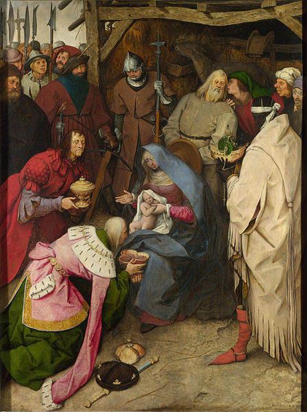 Пионер жанровой живописи - Питер Брейгель Старший (Pieter Bruegel) 14