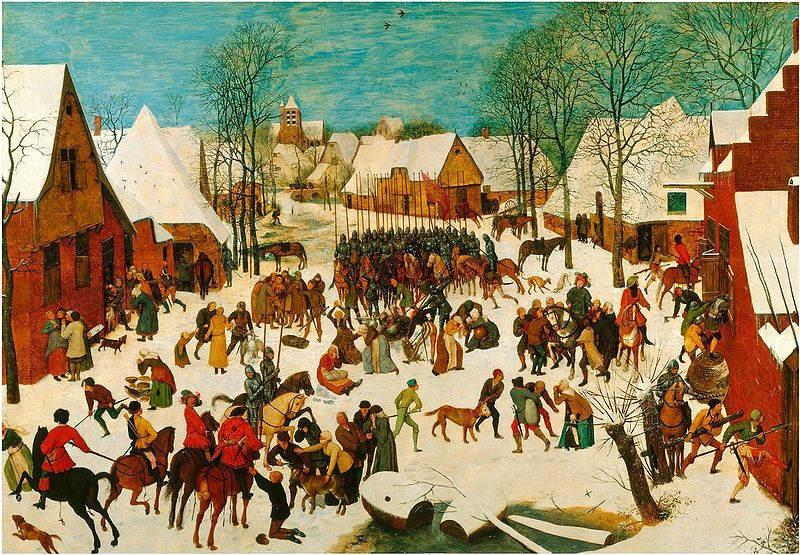 Пионер жанровой живописи - Питер Брейгель Старший (Pieter Bruegel) 15