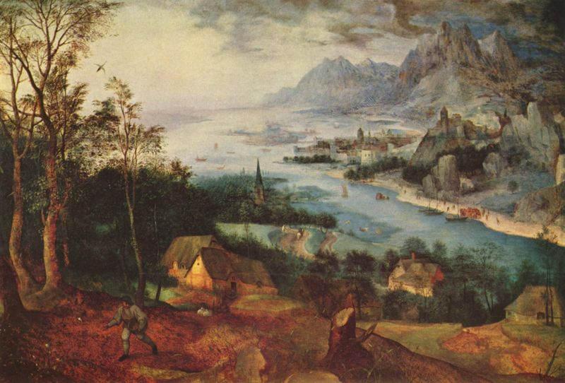 Пионер жанровой живописи - Питер Брейгель Старший (Pieter Bruegel) 17