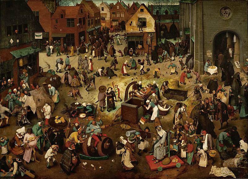 Пионер жанровой живописи - Питер Брейгель Старший (Pieter Bruegel) 18