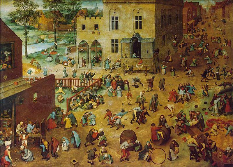 Пионер жанровой живописи - Питер Брейгель Старший (Pieter Bruegel) 19