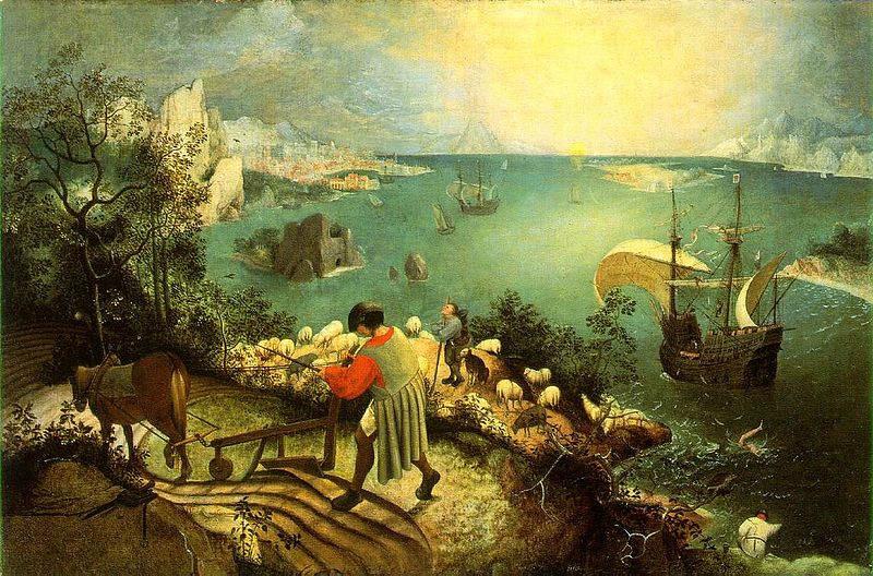 Пионер жанровой живописи - Питер Брейгель Старший (Pieter Bruegel) 2